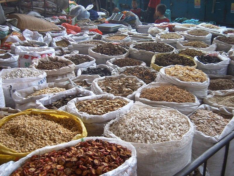 File:Xi'an traditionnal medecine market (20).JPG