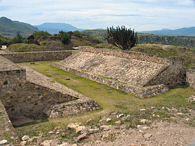 archaeological site and former city-state associated with the Zapotec civilization of pre-Columbian Mesoamerica, located in the Mexican state of Oaxaca