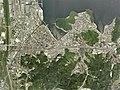 Yasugi city center area Aerial photograph.2009.jpg