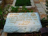 Yoni Netanyahu's grave.JPG