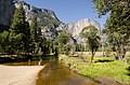 Yosemite from Swinging Bridge with People 2013.jpg