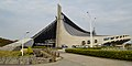 Yoyogi National Gymnasium, from west-south-west.JPG