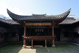 Yu's Ancestral Hall in Ma'ao Village 10 2015-10.JPG
