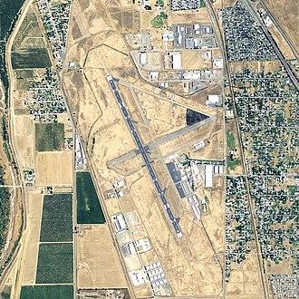 Yuba County Airport - USGS 2006 orthophoto