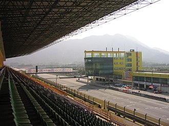 Zhuhai International Circuit - The circuit from the main grandstand.