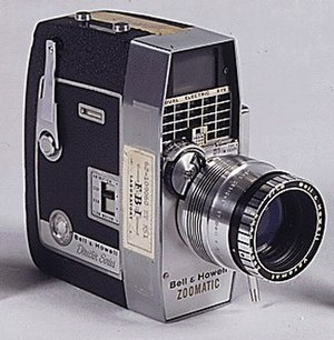 Abraham Zapruder - Abraham Zapruder's camera, in the collection of the US National Archives