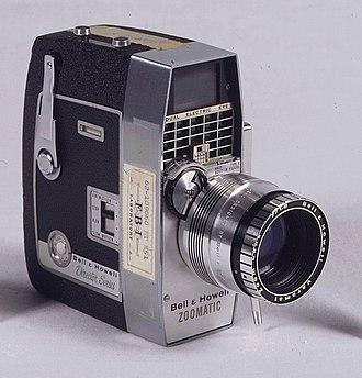 Zapruder film - Image: Zaprudercamera