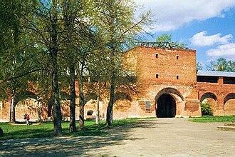 Zaraysk - The kremlin's St. Nicholas Tower