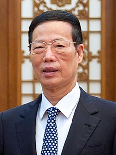 Zhang Gaoli Vice Premier of the Peoples Republic of China