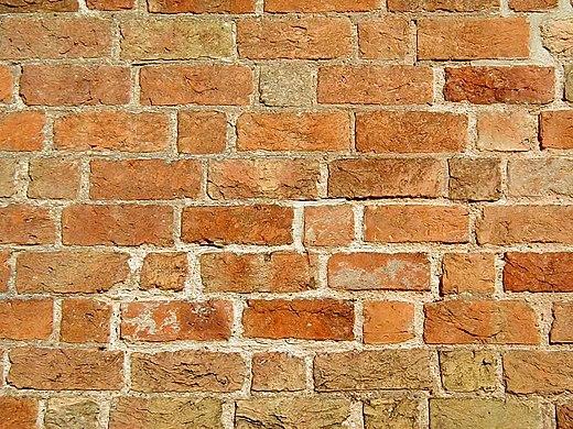Brick Wall In Gothic Bonding