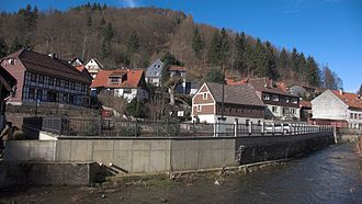 Zorge (river) - The Zorge en route through the village of the same name