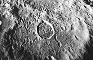 Zwicky (crater) - Image: Zwicky crater AS17 M 0837