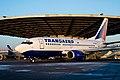 """""""Transaero"""" B-737 taxing. (3645807127).jpg"""