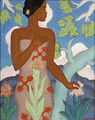 'Hawaiian Woman', painting by Arman Tateos Manookian, 1929.jpg