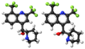 (RS,SR)-mefloquine ball-and-stick model.png
