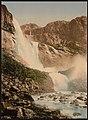 (Skjeggedalsfos, I, Odde (i.e. Odda), Hardanger Fjord, Norway) LOC 3175019324.jpg