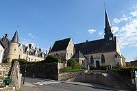 Église Notre-Dame château Beaumont-les-Autels Eure-et-Loir France.jpg