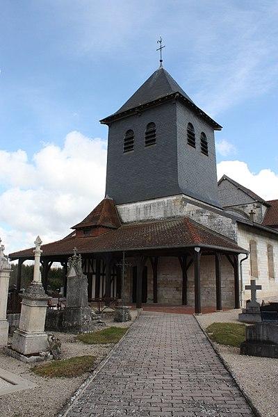 Église Saint-Denis de Courdemanges (Inscrit)