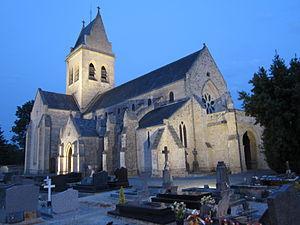 Sainteny - The church of Saint-Pierre