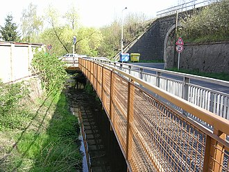 Řeporyje - Image: Řeporyje u viaduktu