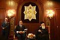 Συνάντηση ΑΝΥΠΕΞ Δ.Δρούτσα με την Α.Θ.Π. τον Οικουμενικό Πατριάρχη κ.κ. Βαρθολομαίο (4948430105).jpg