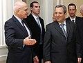 Συνάντηση ΥΠΕΞ Σ. Δήμα με Αντιπρόεδρο και Υπουργό Άμυνας του Ισραήλ E. Barak (6679354559).jpg