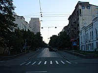 Вулиця Михайла Коцюбинського Київ 2009 01.jpg