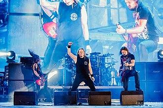 Kipelov - Image: Группа Кипелов на фестивале Moscow Metal Meeting 2014