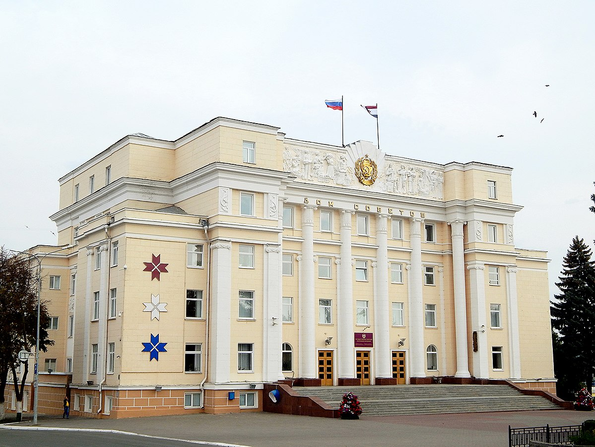Where is Saransk 55