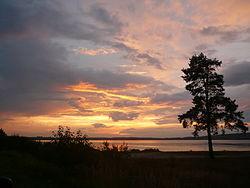 Закат на Озере Рюмниково.JPG