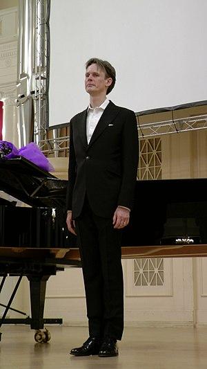 Ian Bostridge - Image: Иэн Бостридж. Санкт Петербург. 21.12.2014. Большой зал филармонии