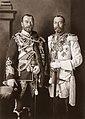 Николай II Александрович и король Британии Георг V.jpg