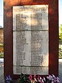 Пам'ятник 230 воїнам-односільчанам загиблим у ВВВ (перелік), Обжиле.jpg