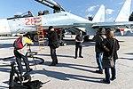 Пресс-тур представителей российских и иностранных СМИ на авиабазу Хмеймим в Сирии (3).jpg