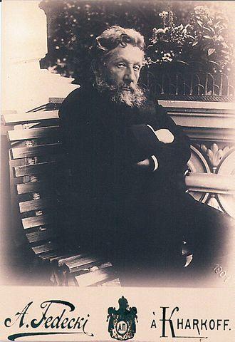 Oleksiy Alchevsky - Photo of Oleksiy Alchevsky in Kharkiv, 1901 by Alfred Fedetsky