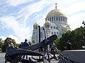 Якорная площадь Кронштадта. Вид на Никольский Морской собор.jpg