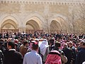 صلاة الجنازة على الشيخ حارث الضاري في مسجد الحسين بن طلال في حدائق الحسين بعمان 09.JPG