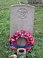 -2020-12-09 CWGC gravestone, A Sailor of World War II, Saint Nicholas, Salthouse.JPG