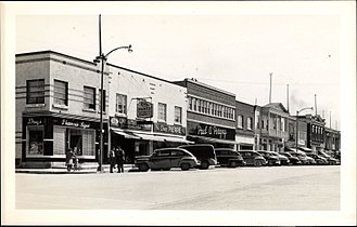 Amos, Quebec - Amos, postcard 1930-1948