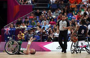 Michael Hartnett (basketball) - Hartnett at the 2012 London Paralympics