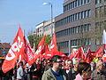 1. Mai 2013 in Hannover. Gute Arbeit. Sichere Rente. Soziales Europa. Umzug vom Freizeitheim Linden zum Klagesmarkt. Menschen und Aktivitäten (168).jpg