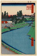 The Benkei Moat from Soto-Sakurada to Kōjimachi
