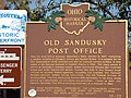 101 0459 old sandusky post office state hist'l marker, sandusky oh.JPG