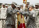 101st STB headquarters cases unit colors in Liberia 150126-A-KO462-140.jpg