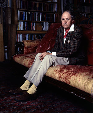 Andrew Cavendish, 11th Duke of Devonshire - Portrait by Allan Warren