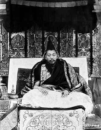 13th Dalai Lama - Image: 13th Dalai Lama 1910