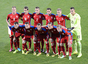 Czech Republic national football team - Czech Republic in 2014