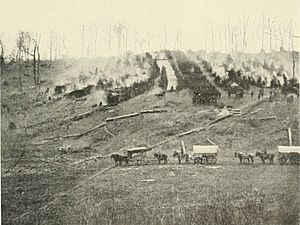 150th Pennsylvania Infantry - The 150th Pennsylvania in early April 1863.