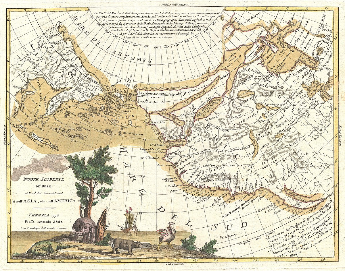 Image of: File 1776 Zatta Map Of California And The Western Parts Of North America Geographicus Americawest Zatta 1776 Jpg Wikimedia Commons