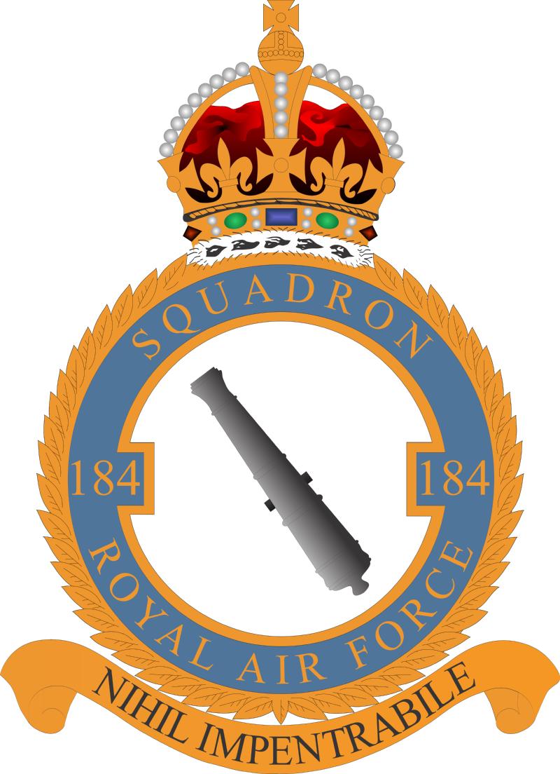 184 Squadron badge